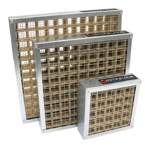 Intumescent Air Transfer Fire Grille - 350 mm x 225 mm